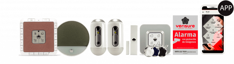 Kit completo sistemas de alarma Verisure
